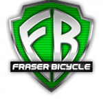 Fraser Bicycle and Fitness Green Logo 2013