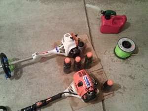 STIHL FS 55 R and KombiMotor KM 90 R