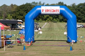 2012 Addison Oaks Fall XC Classic Finish Line