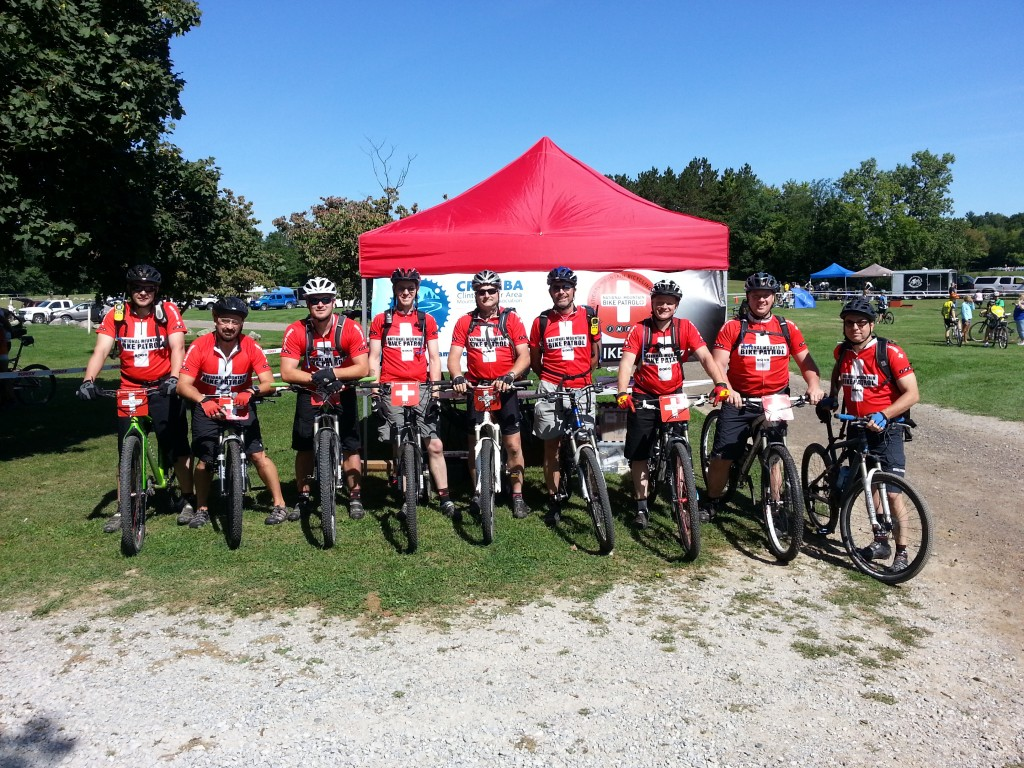 CRAMBA Mountain Bike Patrol at 2013 Addison Oaks Fall Classic