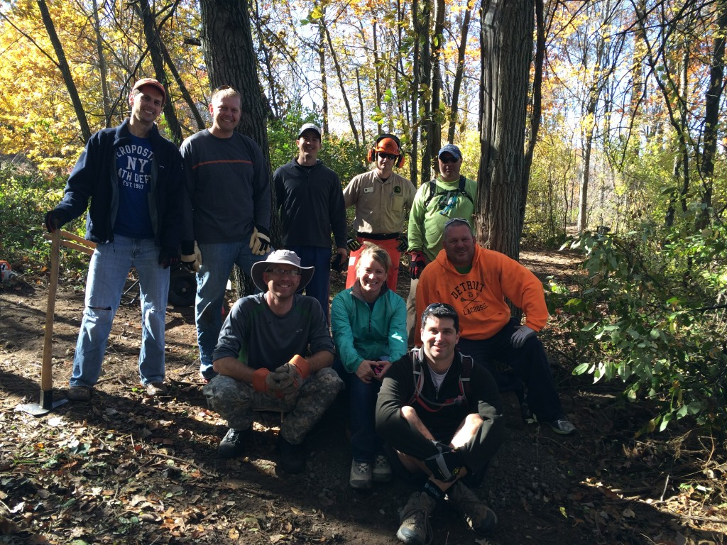 Bald Mountain Trail Day Workers: October 25, 2015